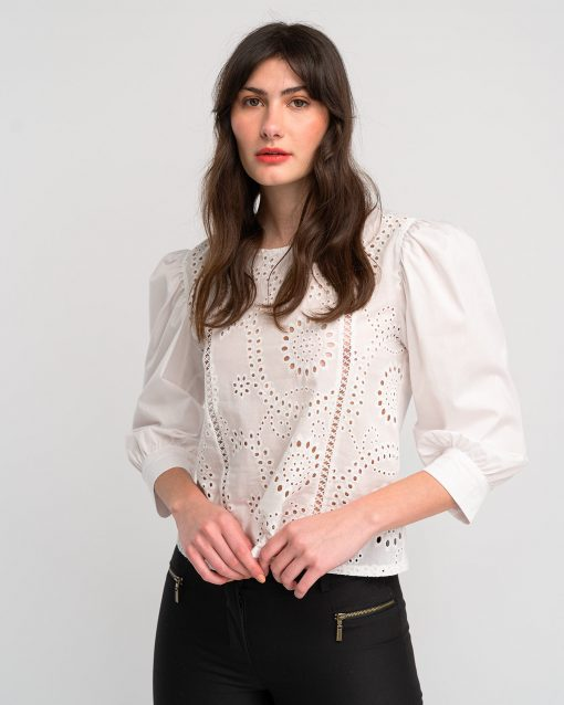 Embroideried Blouse Puplin